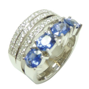 AN5601  $7.79.000 ZAFIRO DIAMANTE  ORO BL