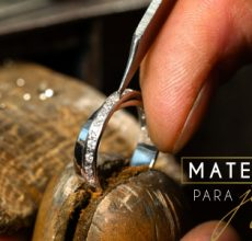 ¿Qué materiales se usan para realizar una joya?
